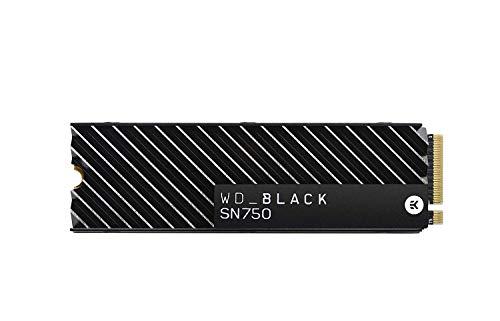 Western Digital_Black SN750 500 GB NVMe Internal Gaming SSD with Heatsink - Generation 3 PCIe, M.2 2280, 3D NAND