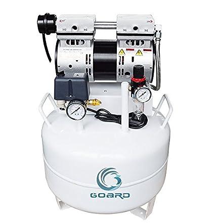 Oil Free Air Compressor >> Amazon Com Goard Oil Free Air Compressor Noiseless Oil Free