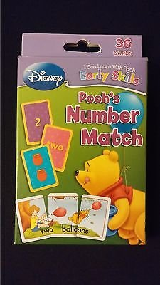 Disney Winnie The Pooh Bear Number Match Educational