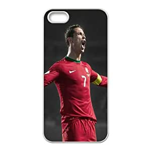 iPhone 5 5s Cell Phone Case White Ronaldo Roar Color Number Seven SU4570626