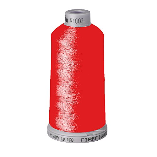 Madeira Fire Fighter No.40 Flame Resistant Embroidery Thread (Cop) (Red (1838)) - Madeira Bath