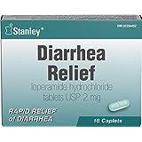 Stanley Pharmaceuticals Anti Diarrheal, Loperamide, Rapid Relief of Diarrhea, 18 Caplets