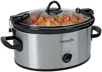 Crock Pot 6-Qt Cook N Carry Slow Oval Cooker