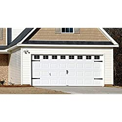 Decorative Faux - VINYL - Garage Door Windows (2 Car Garage)