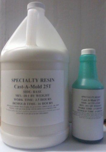 - Cast-A-Mold 25T Silicone Rubber (1 Gallon)