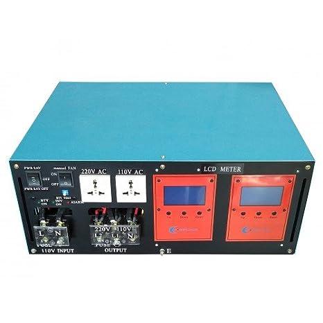 Inverter 10000W LF Inversor De Onda Pura Del Seno DC 24V/AC ...