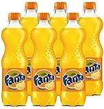 Fanta Orange Soft Drink - 6 X 500 ml