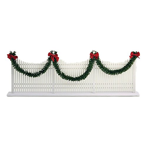 Decorated Picket Fence (Byers' Choice Decorated Picket Fence #623)