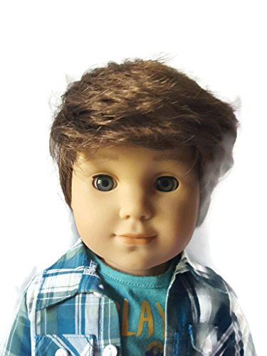 Messy Male Doll Wig for American Girl Boy Dolls Size 10-11