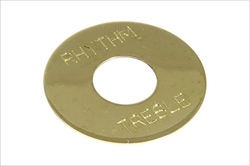 bangdan Toggle Switch Ring Plate Solid Brass non-plated (Brass Plated Panels)