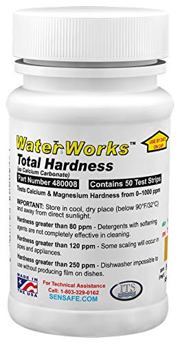 Industrial Test Systems 480008 WaterWorks Total Hardness Test