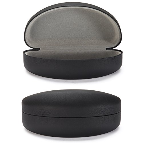 (ALTEC VISION Sunglasses Case - Fits Extra Large Frames - Black/Gray)