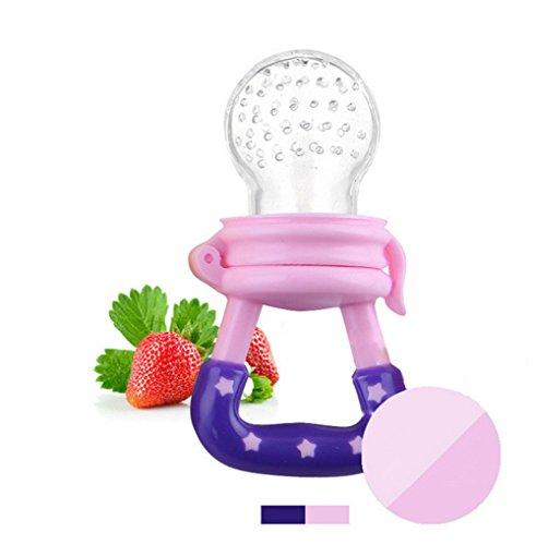 dsstyle bebé juguetes Alimentos Frescos Alimentador Alimentación Tetina de silicona dispositivo de formación Molar Rod...