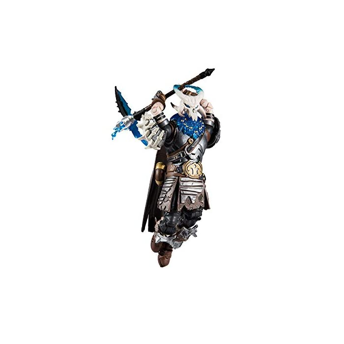 41fqpGGETzL Hyper-articulated (22 Moving parts) - perfect for emote posing Comes complete with the frozen shroud back bling Ready for battle with the double barrel shot gun