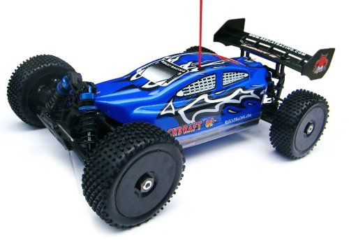 Redcat Racing Backdraft 8E Brushless Electric Buggy, Blue, 1/8 Scale 20c R/c Car