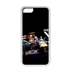 Sebastian Vettel Red Bull White Phone Case for Iphone 5c