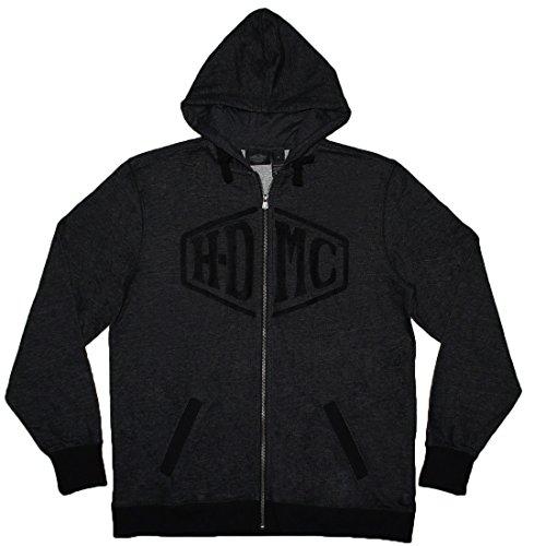 Harley Davidson Motorcycles Club Mens Zip-Up Hoodie / Jac...