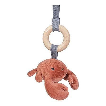 Tiamo Little Dutch 4833 Holz Baby Gym Spieltrapez mit Stoff Anh/ängern Ocean rosa 67,5x18x6,2 cm