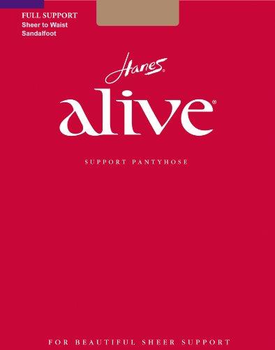 - Hanes Alive Women`s Sheer to Waist Pantyhose - Best-Seller!