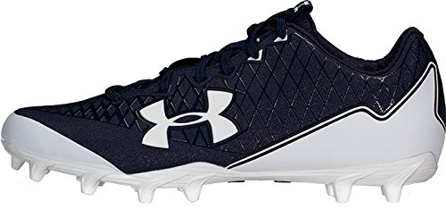 official photos 382d3 c34de Under Armour Men s Nitro Select Low MC Football Cleats (12, White Navy)