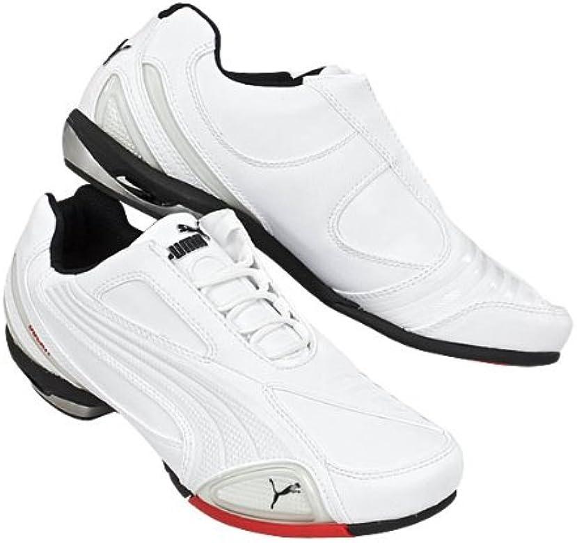PUMA Testastretta Moto Ducati Baskets pour Homme Blanc