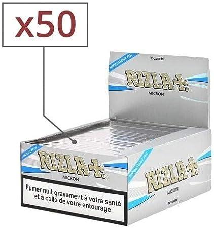 regular x10 boites filtres rizla
