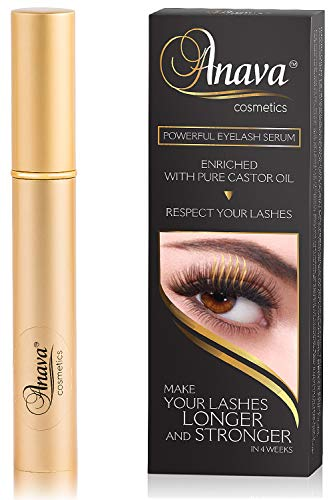 Eyelash Growth Serum - 6-Months Supply - All Natural Enhancing Treatment for Falling Thinning Lashes - Nourishing & Thickening Conditioner - Healthy Thick Long & Strong Lashes in 4-8 Weeks