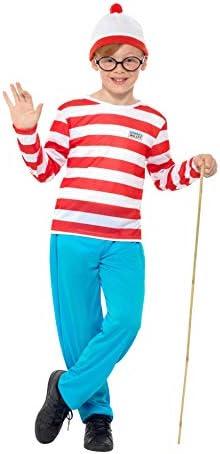 School Boy Specs Wally Wanda Glasses Book Week Day Fancy Dress Accessory New