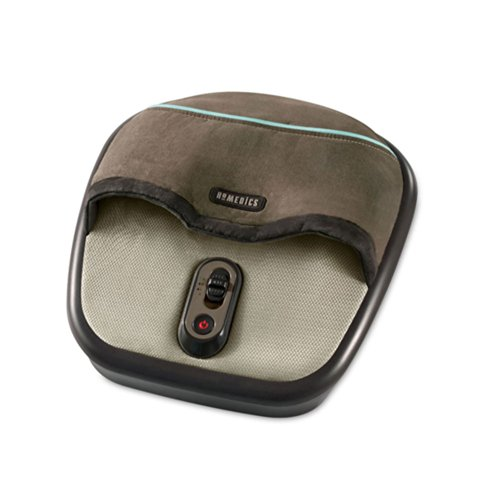 HoMedics Air Compression + Shiatsu Foot Massager with Heat - Foot Shiatsu Massager (Fms 305h Shiatsu Air Max Heated Foot Massage)
