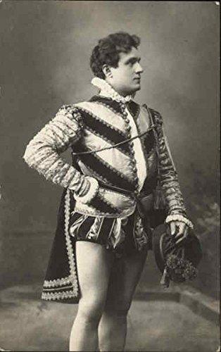 Man in Elizabethan Costume Actors Original Vintage Postcard ()