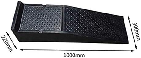ゴム製段差プレート カーメンテナンススペシャルパッド修復車の修復カーステップラダー沿道リフティング 産業用ゴム縁石ランプ (色 : Black, Size : 100x30x22cm)