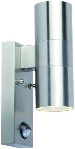 LED Down Aussenleuchte mit Bewegungsmelder Edelstahl 10298