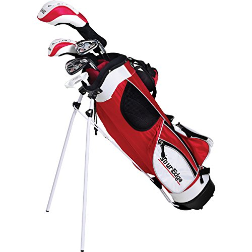 Tour Edge HT Max-J Set (Junior's, Ages 9-12, 5 Club Set, Right Handed, with Bag)
