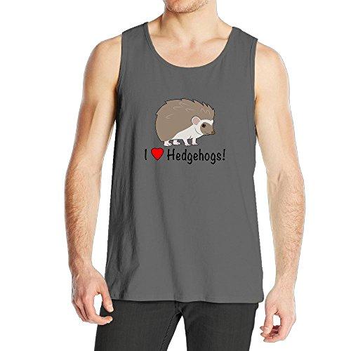 Mokjeiij I Love Hedgehogs Men