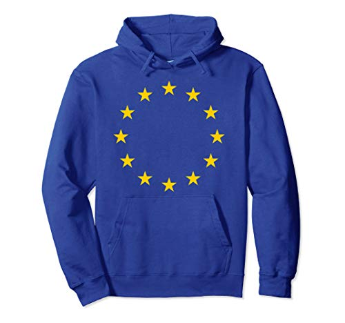 Britain UK European Union Blue Yellow stars EU Flag Brexit Pullover Hoodie (Christmas Anti Jumper Uk)