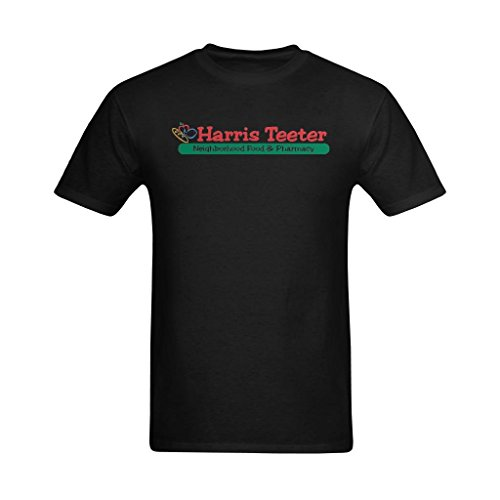 youranli-mens-harris-teeter-red-and-green-logo-t-shirts-l