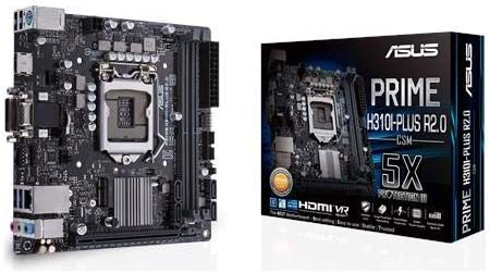 Asus Prime H310i Plus R2 0 Csm Motherboard Mini Itx Computers Accessories