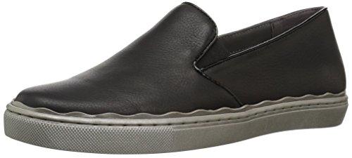 Aerosoles Women's Millionaire Flat, Black Leather, 7.5 M US