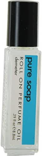 DEMETER by Demeter PURE SOAP ROLL ON PERFUME OIL .29 OZ (Package Of 3)