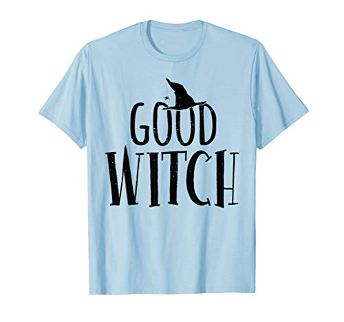 Halloween Witch Shirt Good Bad Funny Mom Sisters Scary Gift ()
