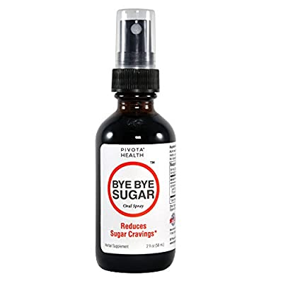 Bye Bye Sugar Oral Spray - Appetite Suppressant for Sweets - All Natural Ingredients with Nothing Artificial