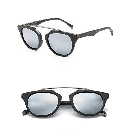 Sol Hombre Gafas Gafas Mujer Polarizadas De De A De Época De Madera De Marco Gafas Sol Sol De Y De 8aSqwf