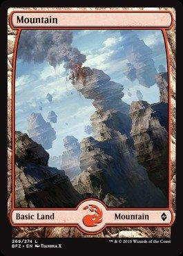 (Magic: the Gathering - Mountain (269) (269/274) - Battle for Zendikar -)