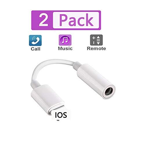 [MFi Certified] BOLIU-U Lightning to 3.5mm Earbuds Jack Adapter Aux Cable Earphones/Headphone Converter Accessories…