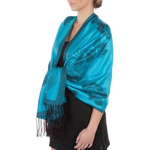Turquoise Shawl