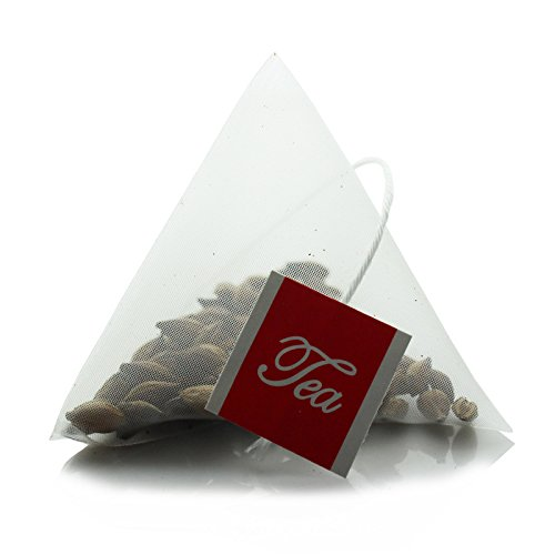 Lucklovely Empty Heat Sealing Nylon Pyramid Tea Filter