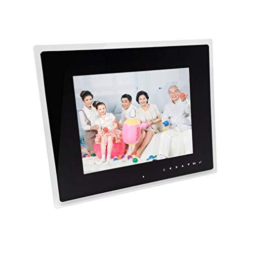 NINI Digitale Fotorahmen Toque-Gusto 12 Zoll Positive Bildschirm Acryl Grenze HD Werbung Maschine Elektronische Álbum Blanco Y Negro,Black: Amazon.es: ...