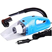 12v Handheld Car Vacuum Cleaner VC360, Portable Carpet Cleaner for Car 120W 4000pa with Cigarette Plug Cleaning Pet Hair, Soot, Bread Crumbs and etc - Blue