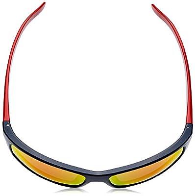 Arnette Men's Fastball Rectangular Sunglasses, Black, 62.1 mm