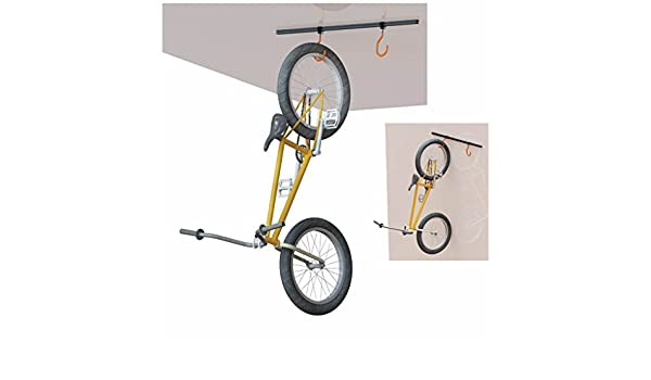 SUPER B - 35321 : Soporte de bicicleta al techo/pared Super B TB-1817: Amazon.es: Coche y moto